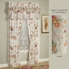 Floral Curtains Floral Curtains Touch Of Class