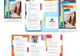 microsoft tri fold brochure template business services tri fold