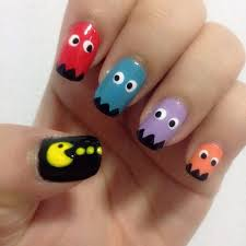 pacman nail designs image collections nail art designs