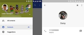 contact provider apk contacts 2 0 includes a cleaner ui and changes to contact