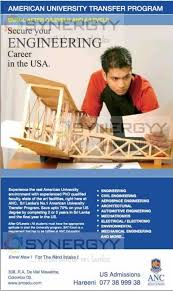 sri lankan l engineering degree programme after o l in sri lanka by anc synergyy