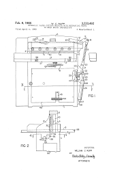 patent us3233492 hydraulic paper cutting machine with mechanical