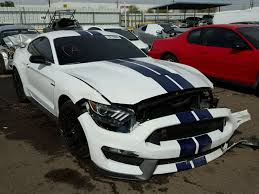 2016 Cobra Mustang Ford Mustang Shelby Gt350 Already Appears At Salvage Auction
