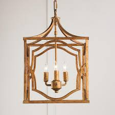 modern fretwork frame lantern small antique gold foyers and