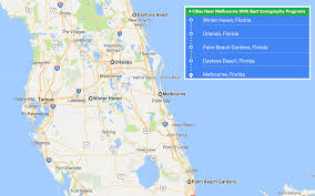 Map Melbourne Fl Accredited Sonography Schools In Melbourne Florida