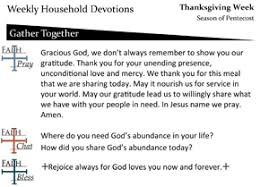 thanksgiving faith formation journeys