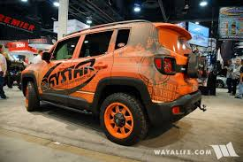 cool jeep accessories 2016 sema daystar jeep renegade
