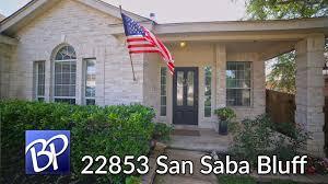 Houses For Sale San Antonio Tx 78223 For Sale 22853 San Saba Bluff San Antonio Texas 78258 Youtube
