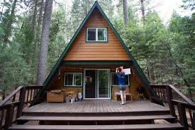 small a frame house tiny a frame cabin in the woods cabin woods and tiny houses
