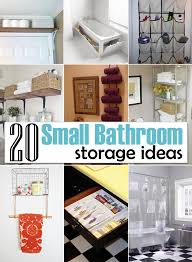 storage ideas for small bathrooms creative of bathroom storage and organization 20 creative storage