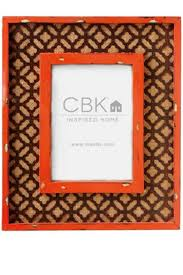 midwest cbk orange burlap frame from kentucky by gracious me