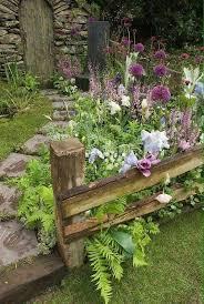 Country Cottage Garden Ideas Fencing Back Yard Pinterest Fences Gardens And Garden Ideas