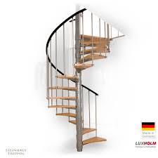 steinhaus treppen wendeltreppe luxholm rondo mit holzstufen ø 140 cm steinhaus