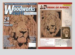 woodworking magazine illustrations wildlife scroll saw patterns