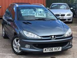 peugeot estate cars for sale used peugeot 206 verve estate cars for sale motors co uk