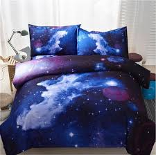 themed duvet cover 3d galaxy duvet cover set universe outer space themed bed linen