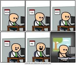 Meme Of The Week - visual representation of a developers week meme developer memes