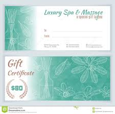 28 gift certificate template massage art and touch massage