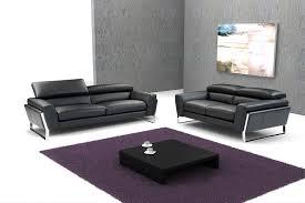 Leather Sofa Italian 798 Modern Black Italian Leather Sofa Set