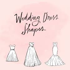 wedding dress guide wedding dress shapes and silhouettes popsugar fashion