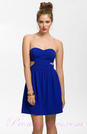 cocktail dress blue vosoi com