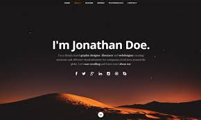 Online Free Resume by 20 Best Free Html Resume Templates By Trendy Theme