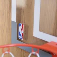 Indoor Wall Mounted Basketball Hoop For Boys Room Spalding Nba Slam Jam Over The Door Mini Hoop With Mini Basketball