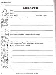 book report template 5th grade 2nd grade book report template 1 professional and high quality
