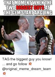 Gym Rats Meme - that moment whenthe two richest at the gmstartarguing gymrat tag the