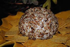 thanksgiving cheese ball ham cheese ball