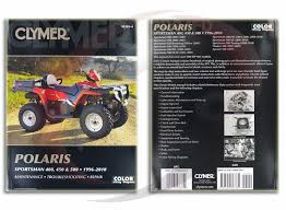 2001 2006 polaris sportsman 500 ho repair manual clymer m365 4