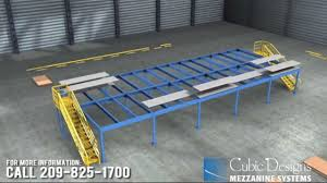 warehouse mezzanine sales and installation company youtube