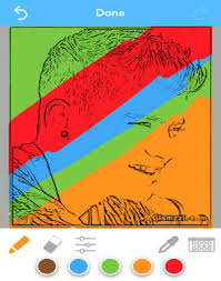convert your photos into coloring pages iphone i love free