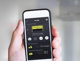 garage doors genie garageor opener app for android apple phone
