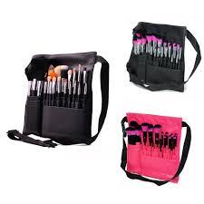 makeup artist belt professional 23pcs makeup brush set with brush belt holder for