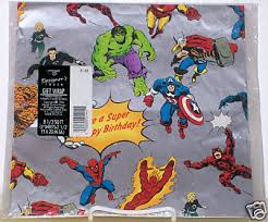 comic wrapping paper wallopin websnappers it s spider stuff marvel wrapping paper