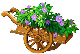 fence clipart flower gardening pencil and in color fence clipart
