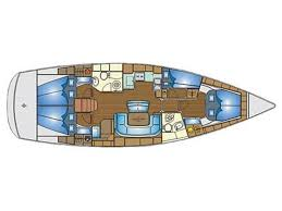 eros yacht layout sailing yacht bavaria 46 cruiser for charter in greece from 2 173