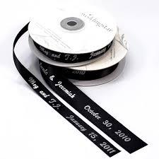 personalized wedding ribbon personalized ribbon