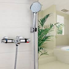 popular modern bathroom showers buy cheap modern bathroom showers modern bathroom shower faucet bath faucet mixertap hand shower head shower faucet set wall mounted hot cold