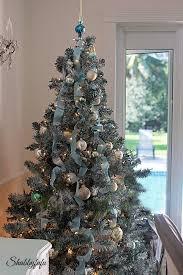 Simple Elegant Christmas Tree Decor by French Country Rustic Elegant Christmas Dining Room Shabbyfufu
