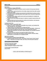 waiter resume sample 8 waitress resume examples self introduce