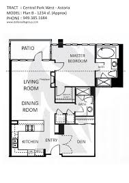 Park West Floor Plan by Astoria Central Park West Irvine High Rise Available For Lease