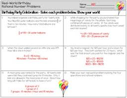 rational numbers word problems worksheets by the clever clover tpt