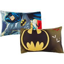 batman halloween decorations batman u0027safe again u0027 boys bedroom curtains walmart com