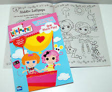 lalaloopsy giant coloring book ebay