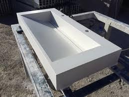 Concrete Vanity Polished Concrete Vanity Top By Mitchell Bink Concrete Design Www
