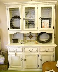 Corner Dining Hutch Furniture Added Storage And Workspace With Buffet Server Cabinet
