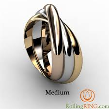 tricolor ring rolling ring tricolor