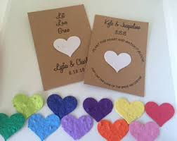 seed favors seed wedding favors etsy